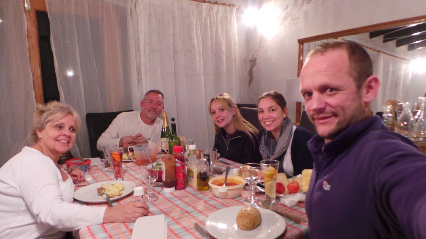 1st Family Dinner in Pego, Spain