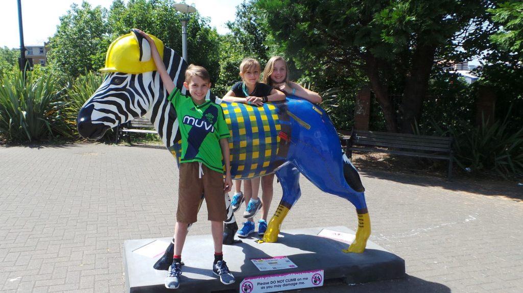 Marwell Zoo's Zany Zebra Trail, Southampton