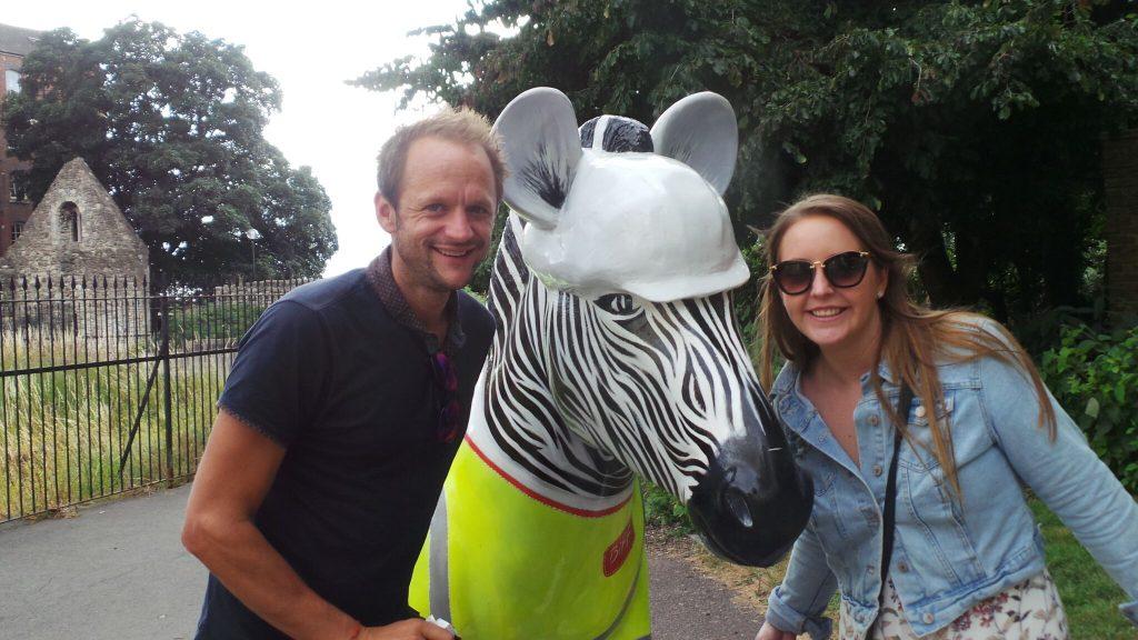 Marwell's Zany Zoo Zebra Trail, Southampton