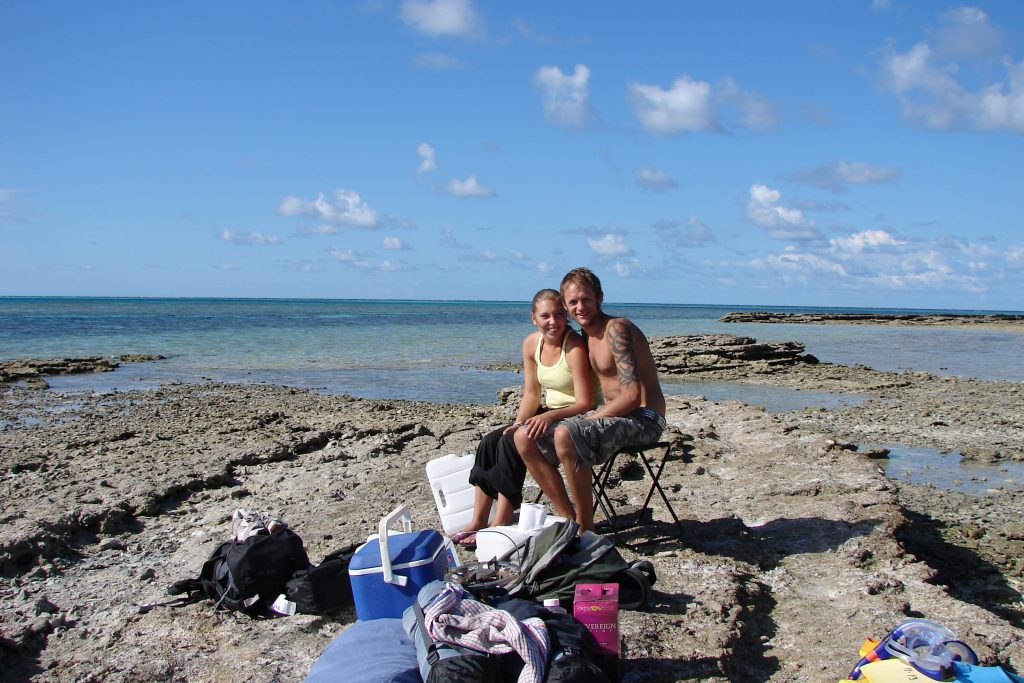 Leaving our Camping trip on Lady Musgrave Island