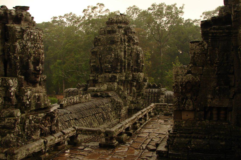 Bayon, Temples of Angkor, Cambodia
