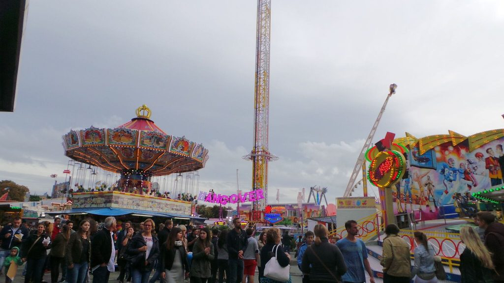 fun fair in Luxembourg City