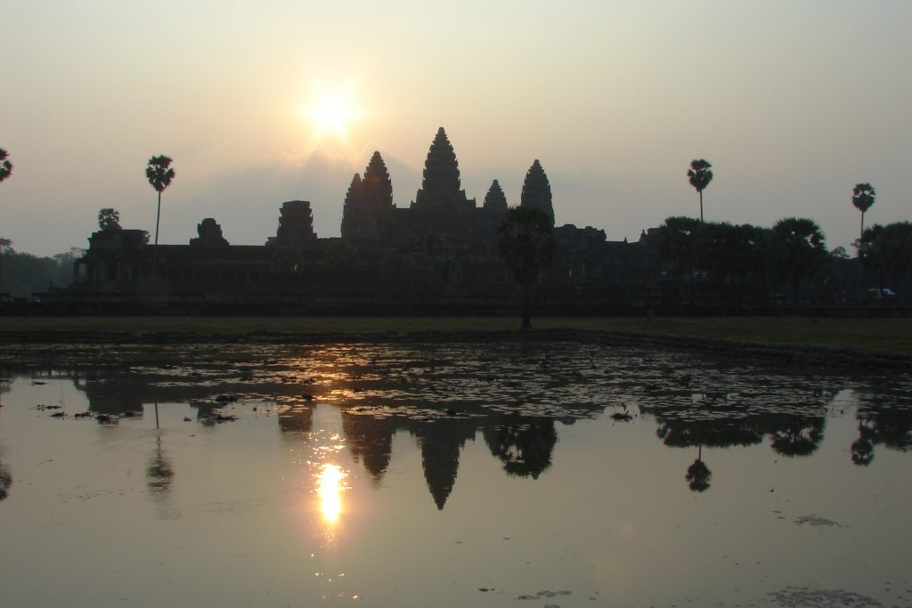 The Temples of Angkor - Sunrise at Angkor Wat, Cambodia