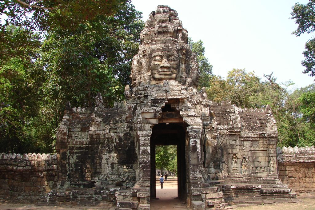 The Temples of Angkor, Siem Reap, Cambodia