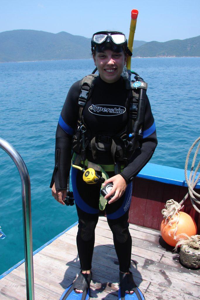 scuba diving in Nha Trang, Vietnam