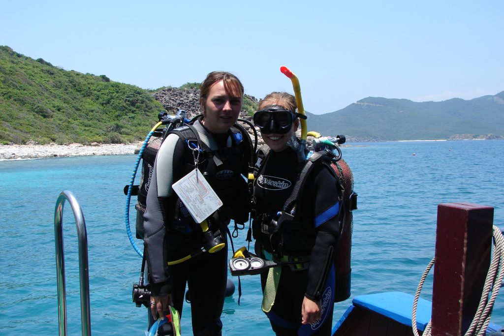 Leigh - scuba dive instructor, Nha Trang