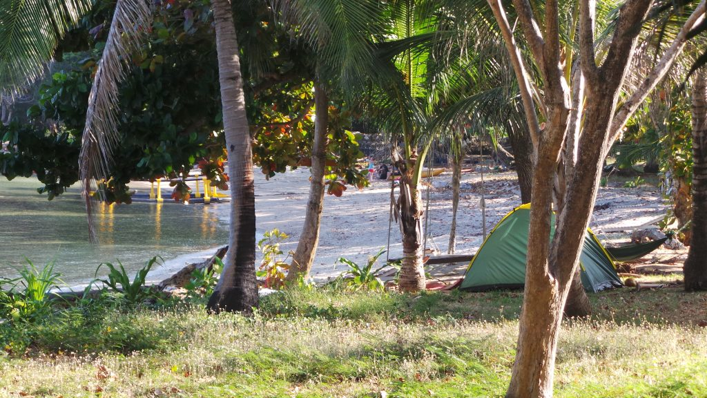 Camping on Panka Bay Resort, Koh Bulone