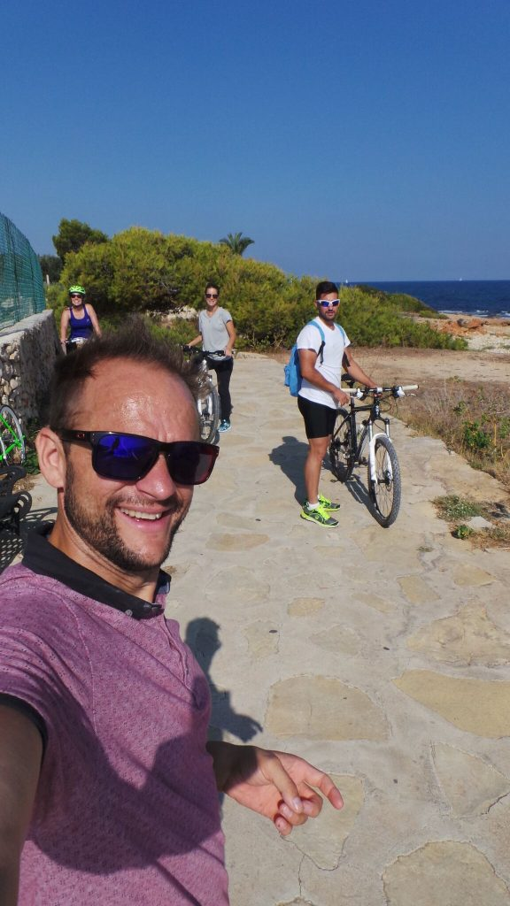Cycling in Denia