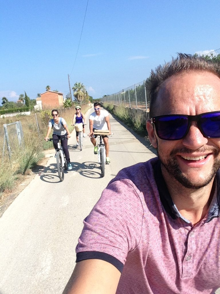 Cycling in Denia, Spain