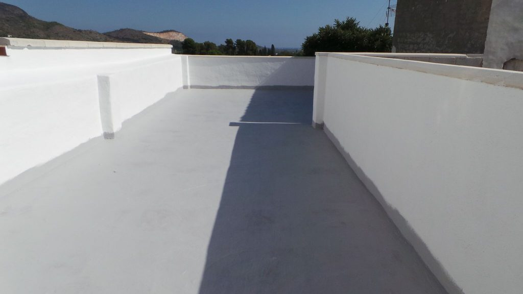 terrace waterproofed
