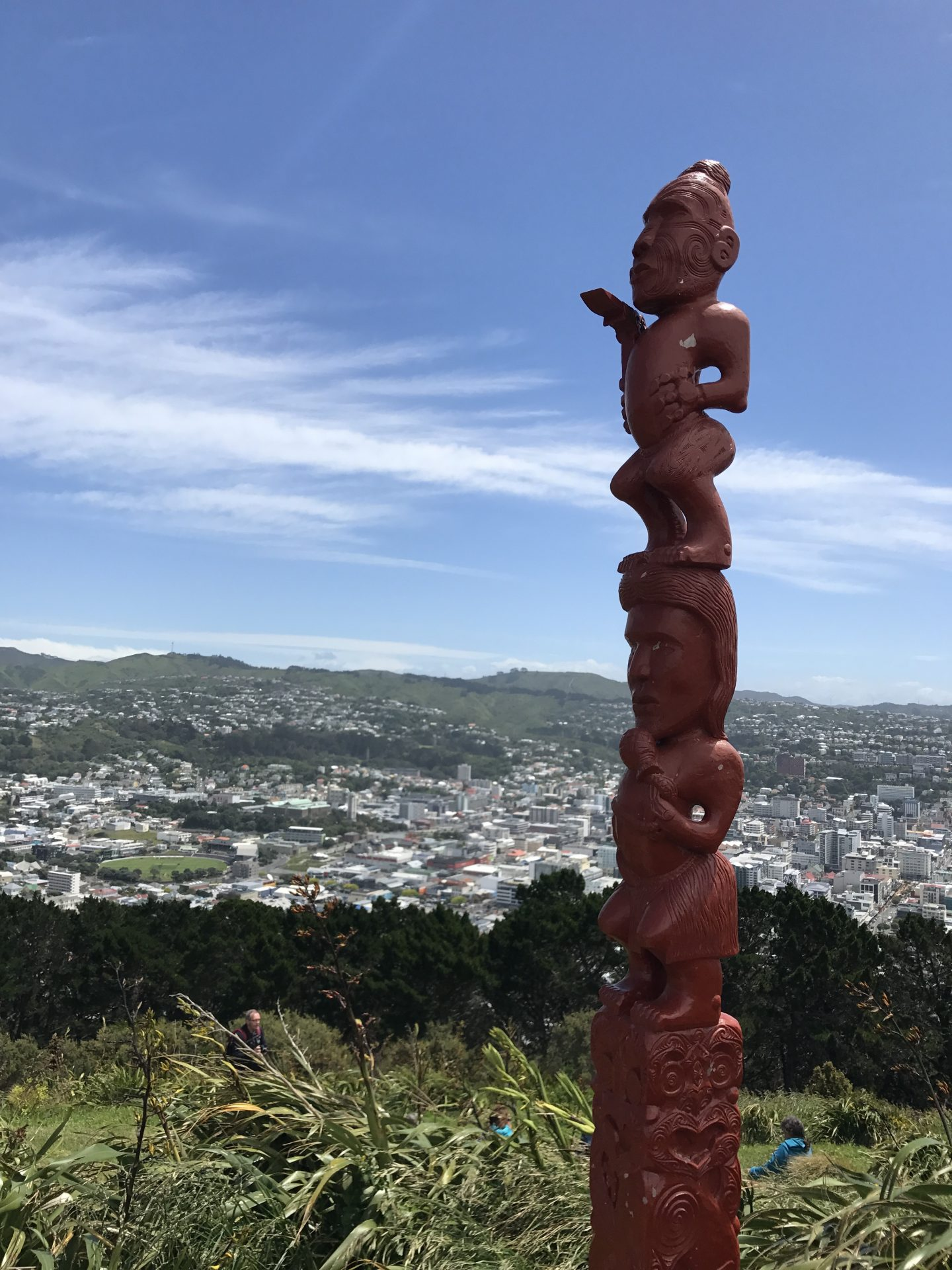 View from Mount Victoria, Wellington