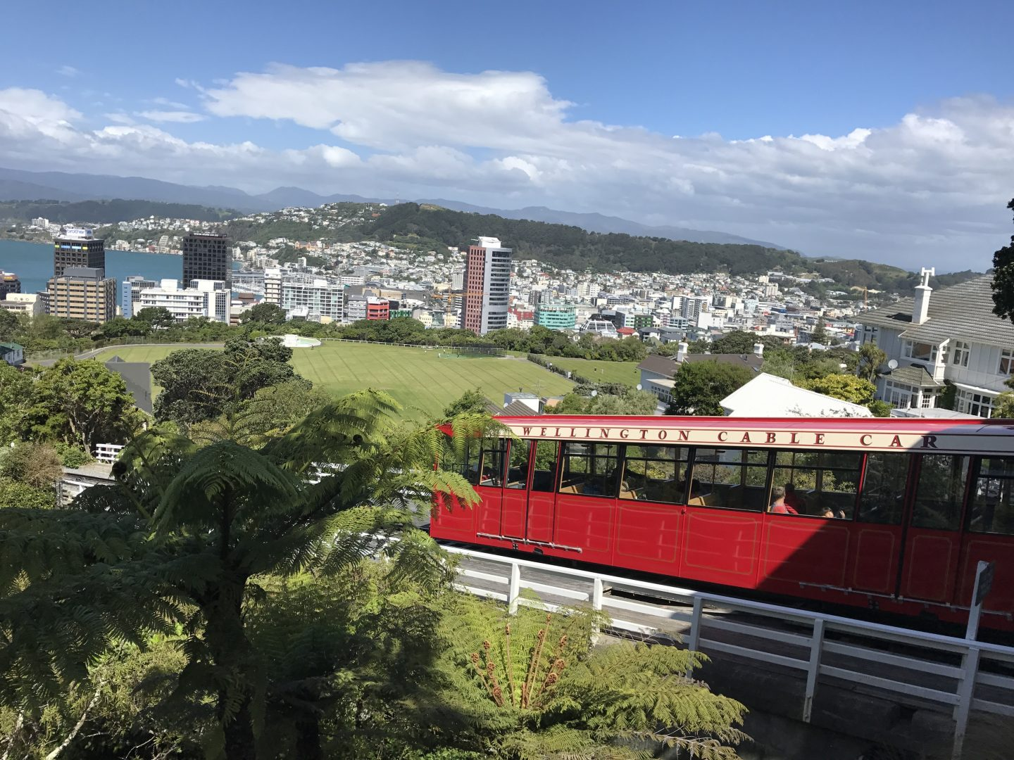 Wellington Cable Car. Our New Zealand Road Trip