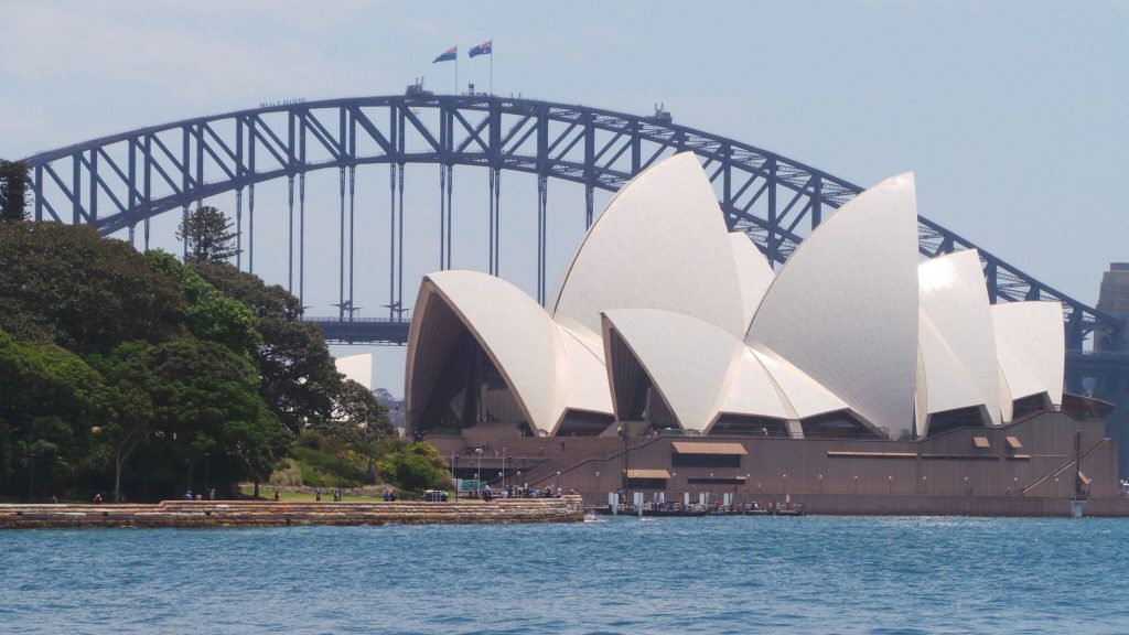 Opera House & Harbour Bridge, Sydney