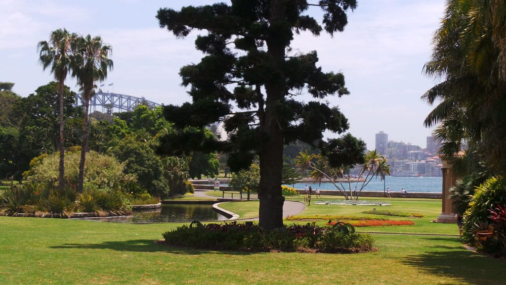The Royal Botanical Gardens, Sydney