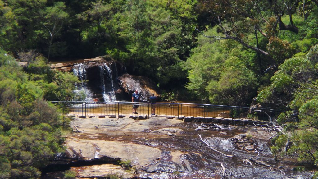 wentworth falls, blue mountains national park, Australia