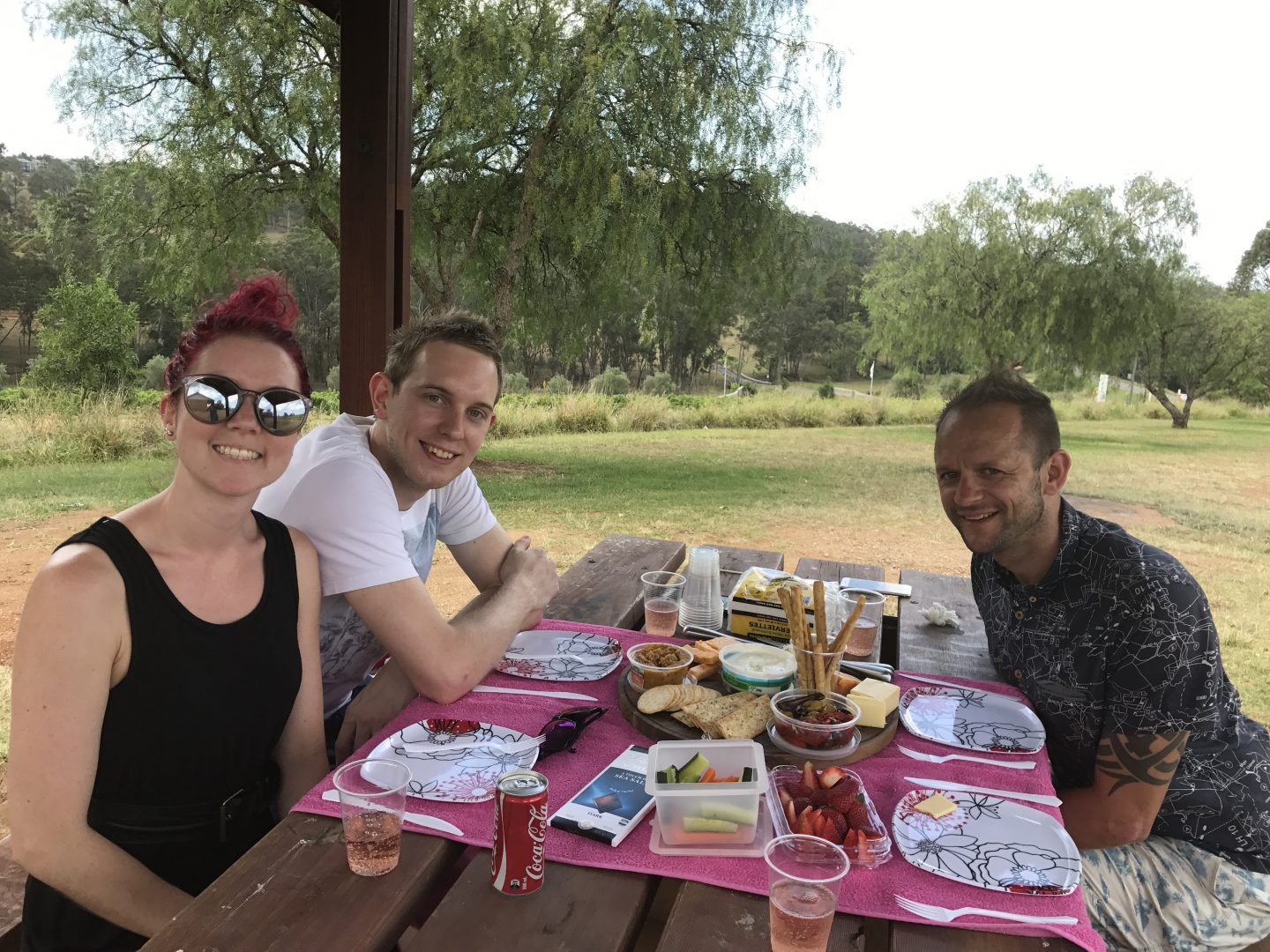 A picnic in the Hunter Valley