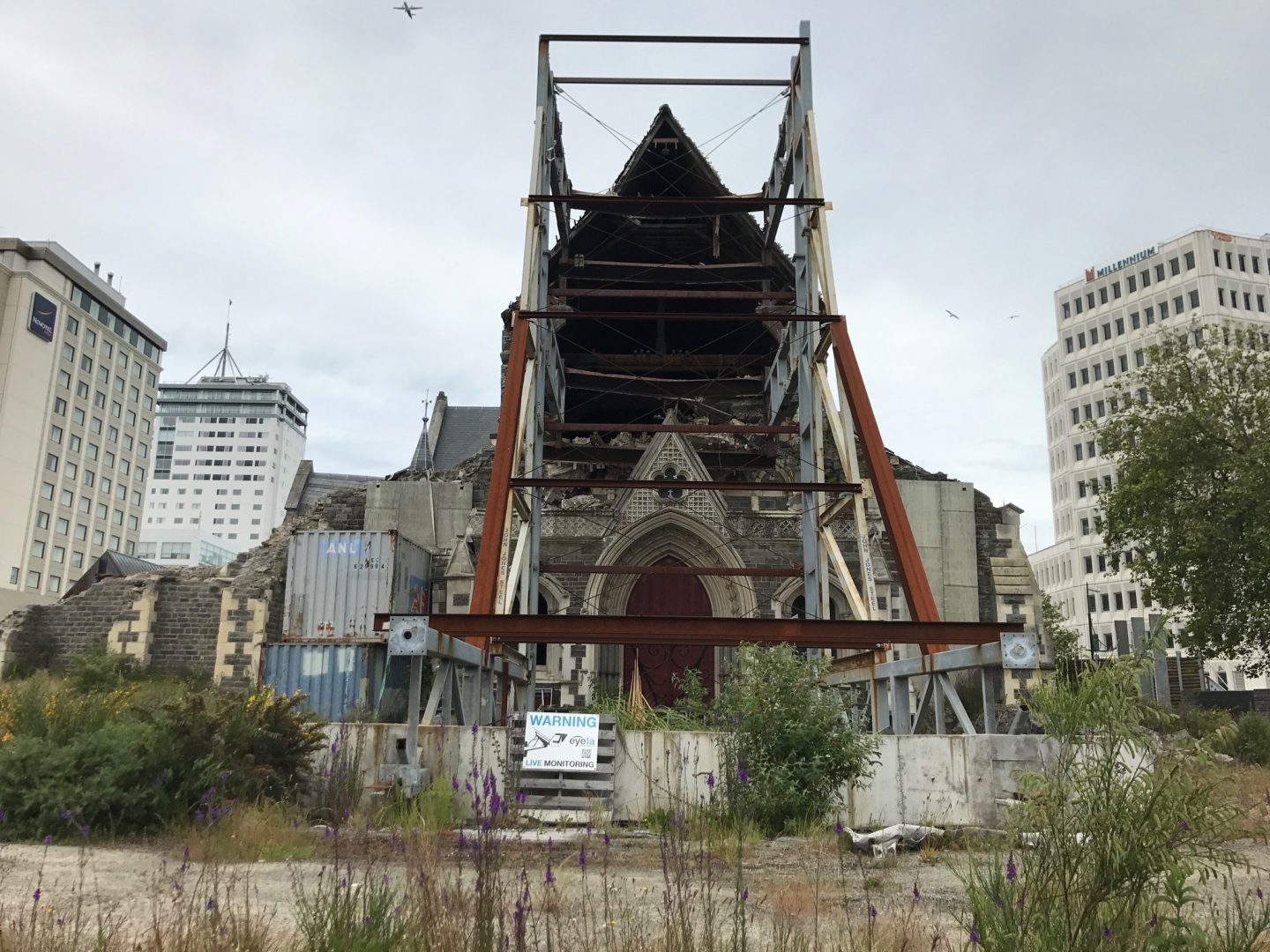 Christchurch Cathedral Post Earthquake