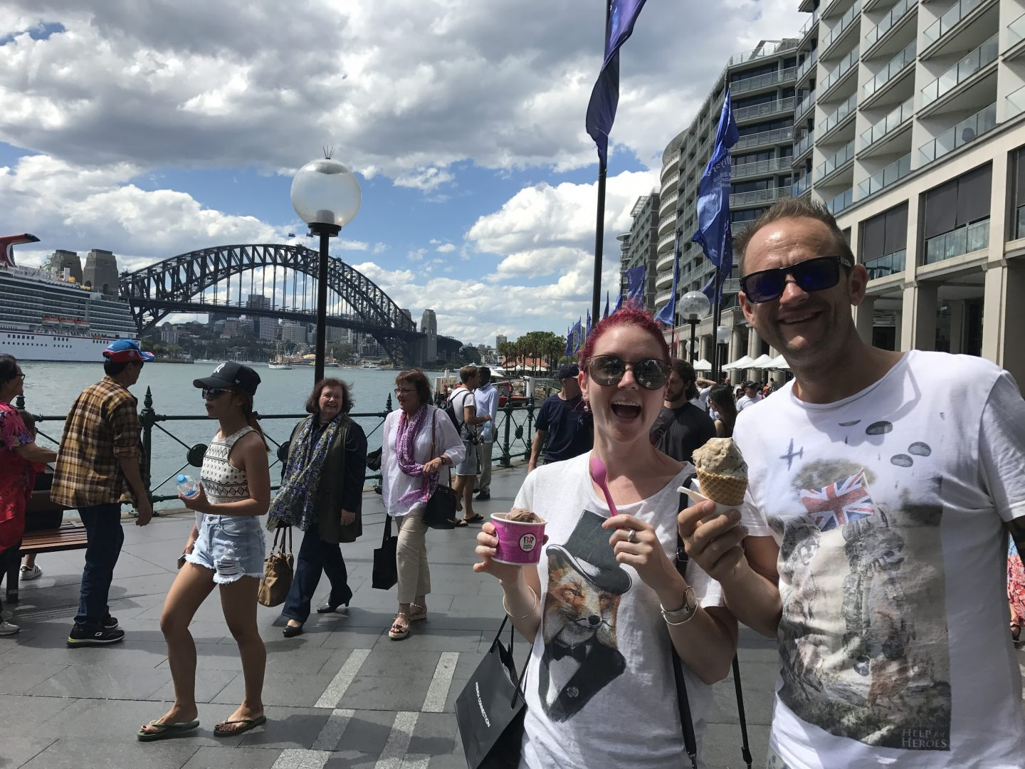 Dee and Darren in Sydney
