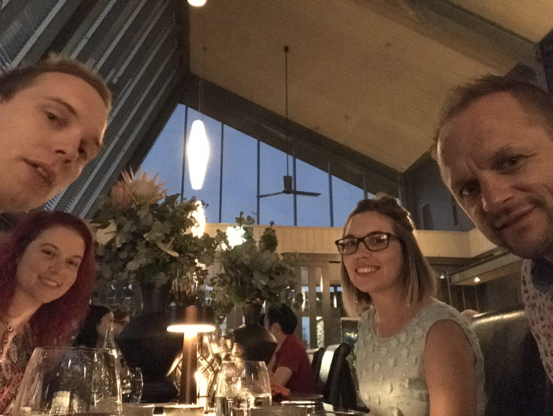 Dinner at Muse, Australia