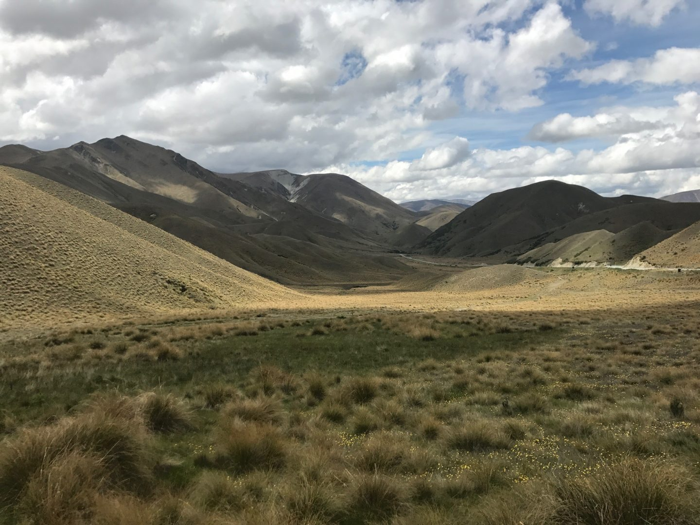Lindis Pass, south island, new zealand