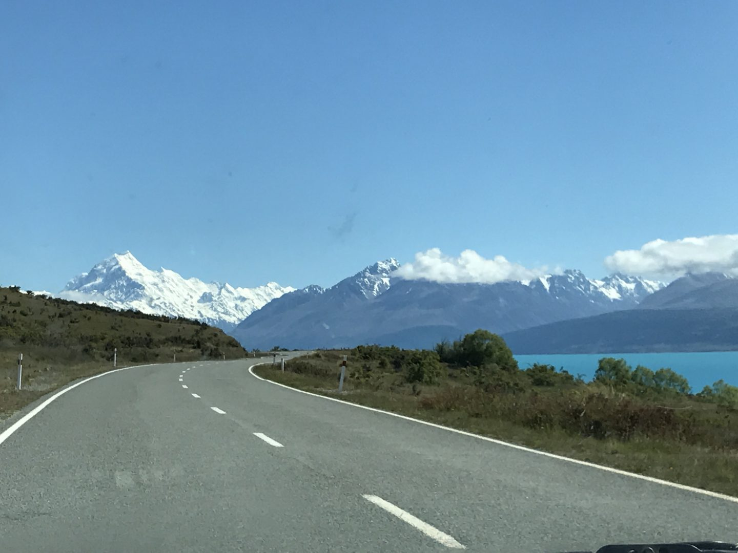 Road to Aoraki / Mount Cook National Park