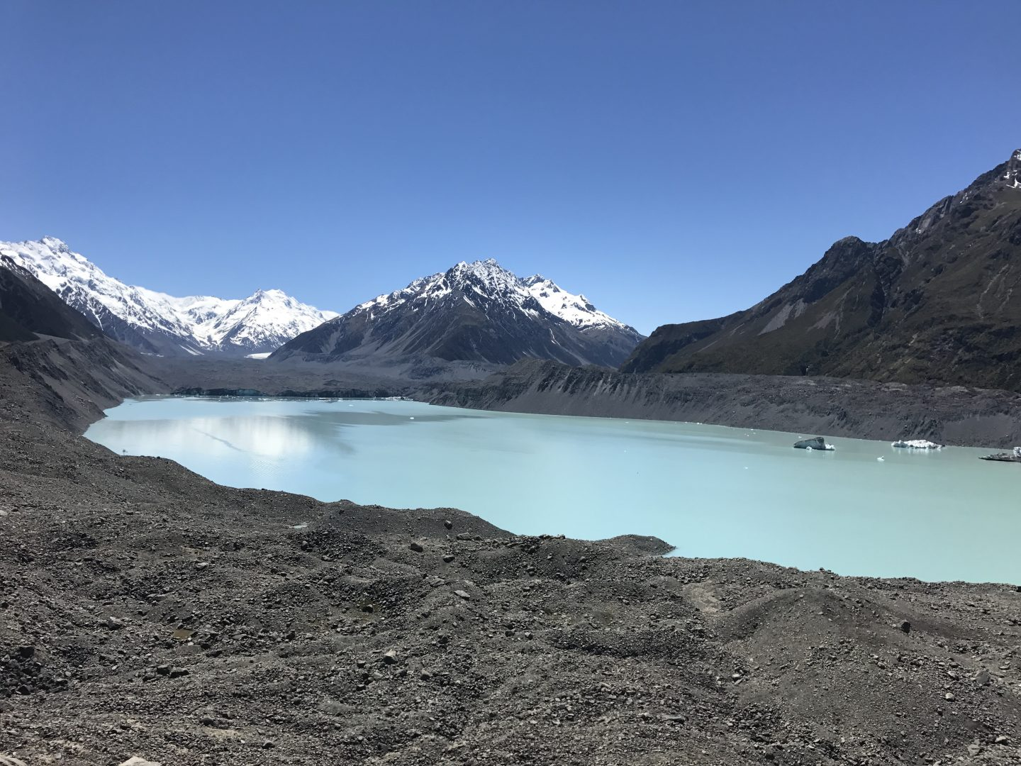 Tasman Lake, Aoraki / Mount Cook National Park