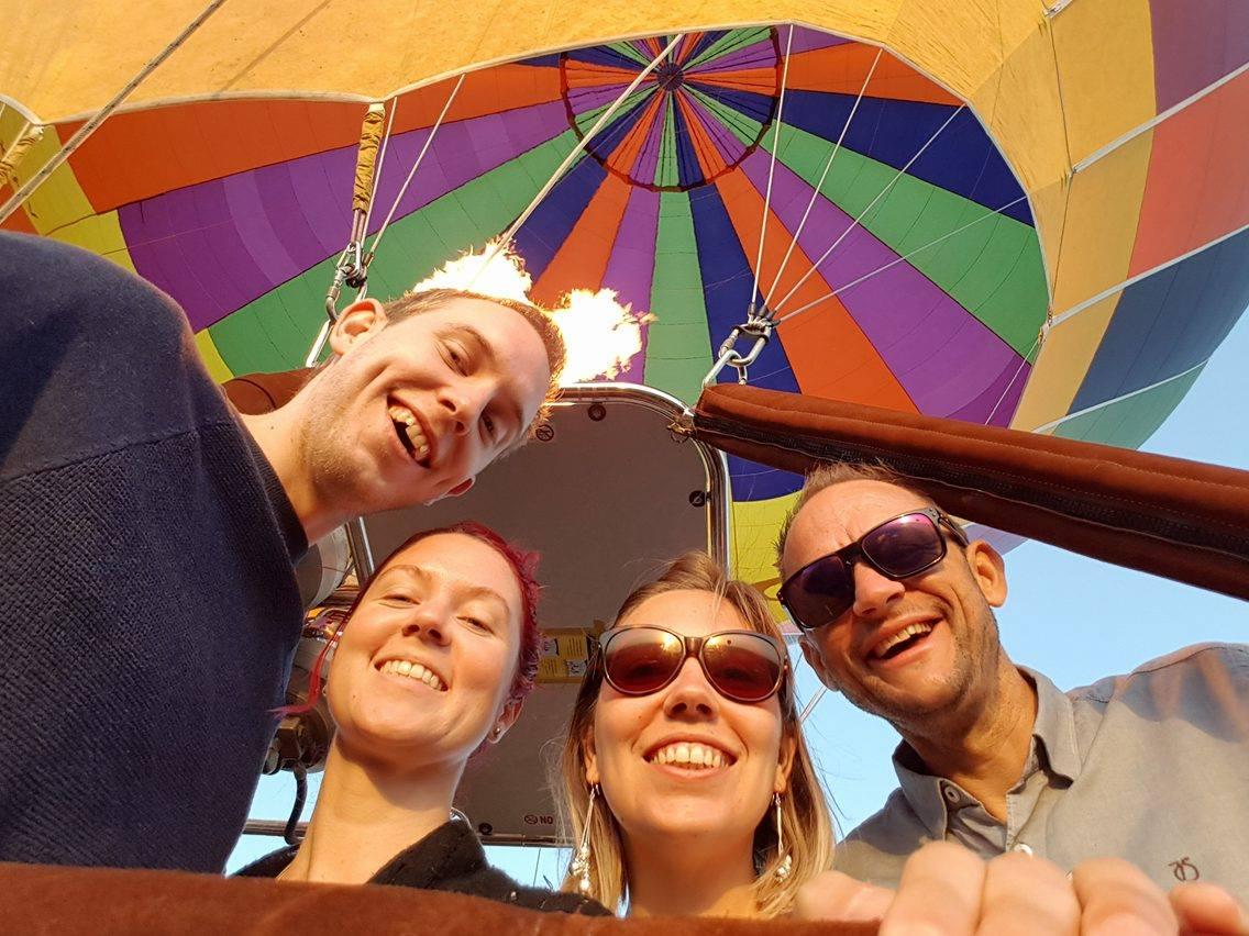 Aloft balloon flight, Hunter Valley