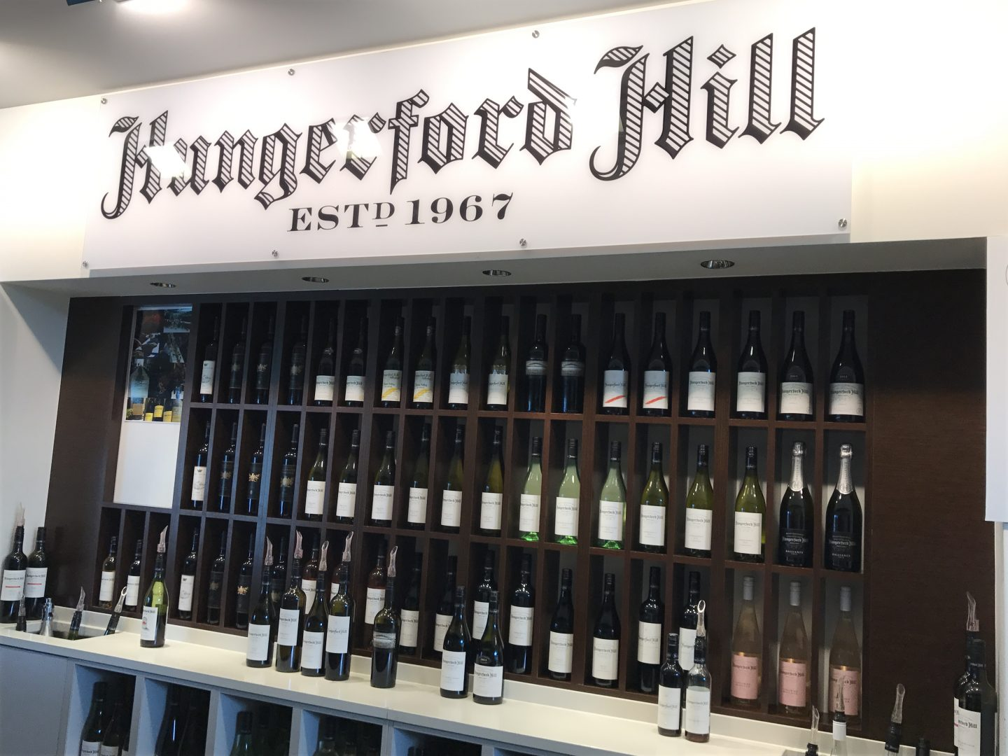 Wine tasting in Hungerford Hill, HUnter Valley