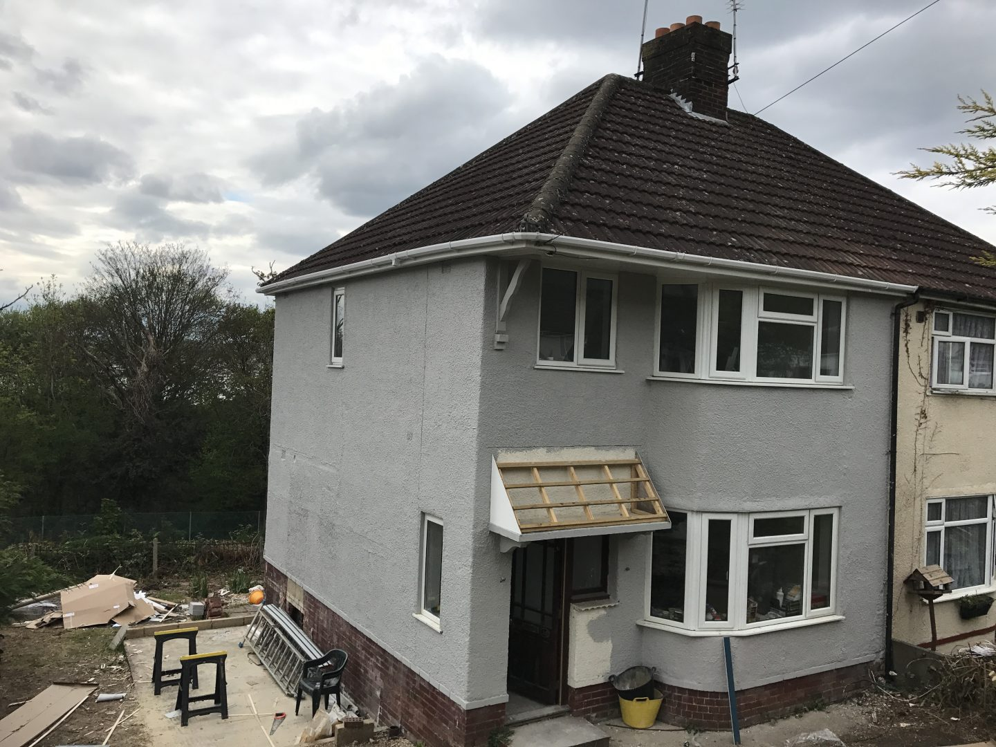 Braeside Road: Progress at Month One