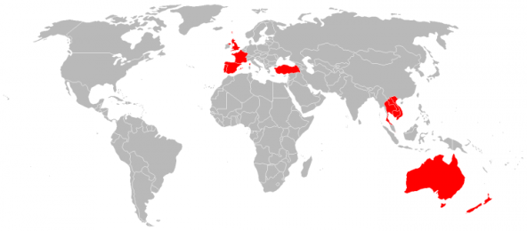 Countries Darren and I have Visited