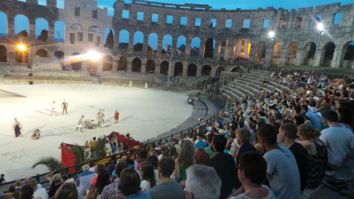 Gladiator Fights at Pula Colosseum