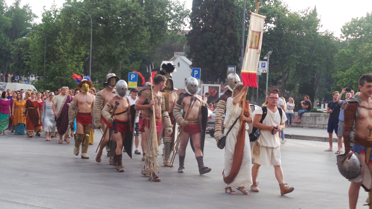 Gladiators at the Festival of Antiquity