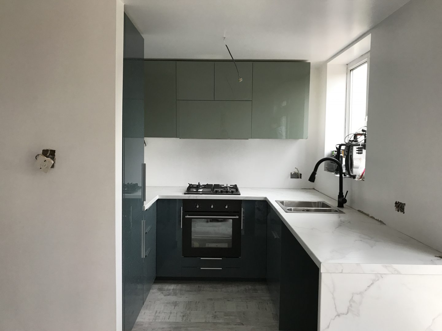 Ikea Kallarp 2 Tone Kitchen