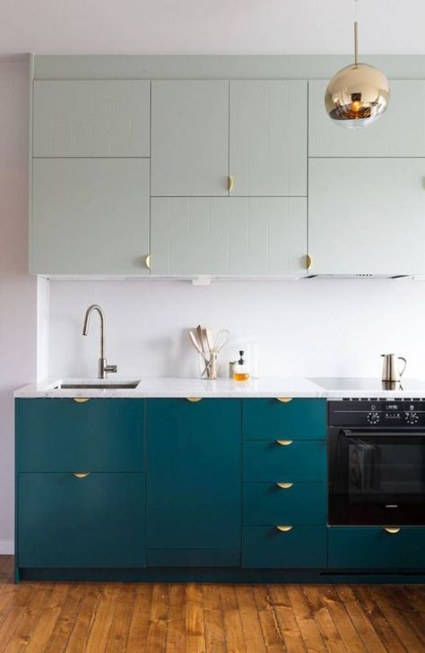 Two Tone Kitchen Inspiration
