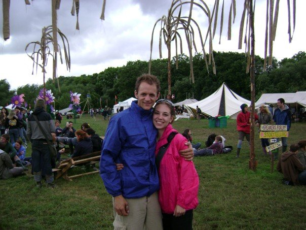 At Glastonbury 2007