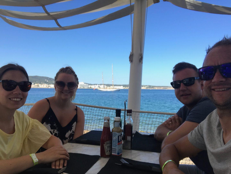 Breakfast at Cafe Mambo, Ibiza