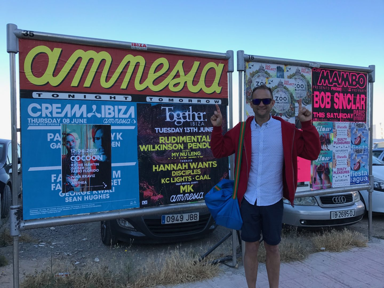 Darren in Ibiza