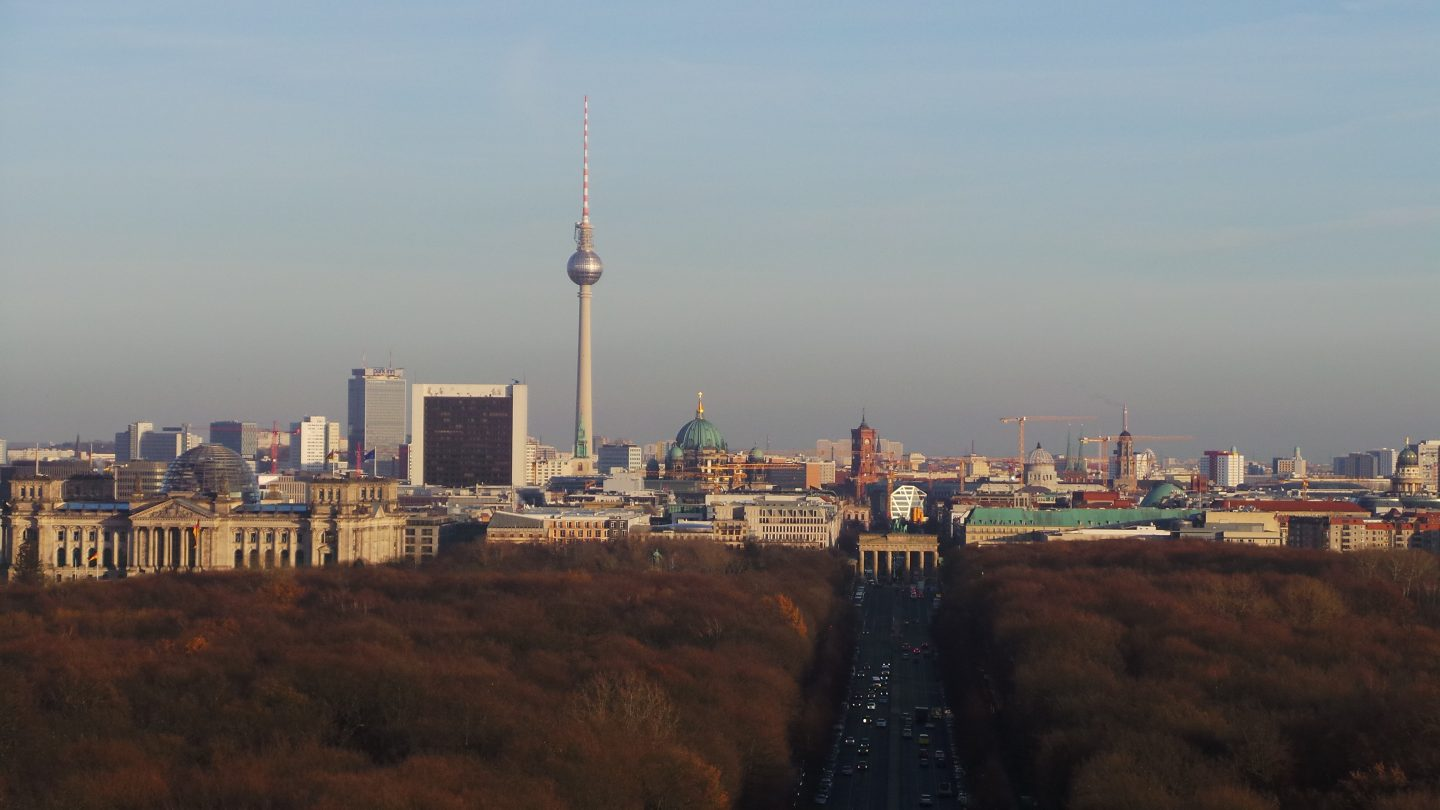 View from Victory Column, Berlin